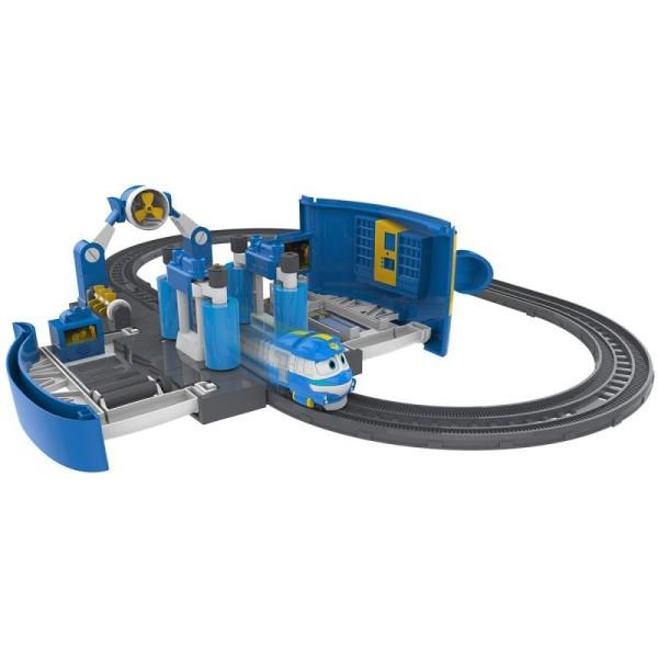 80171 Silverlit Robot Trains Набор Мойка Кея