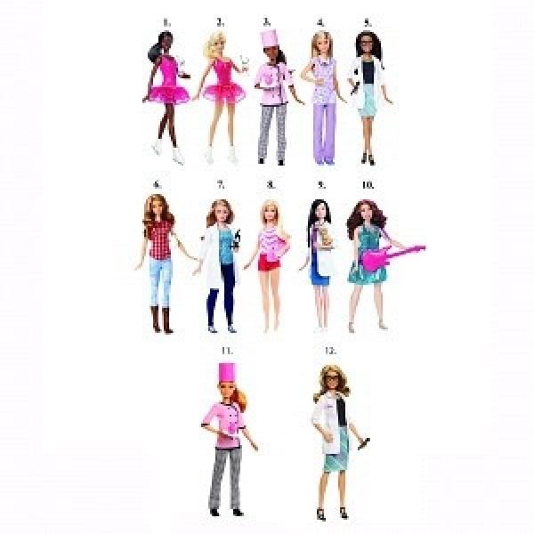 DVF50 Mattel Barbie Кукла из серии Кем быть?