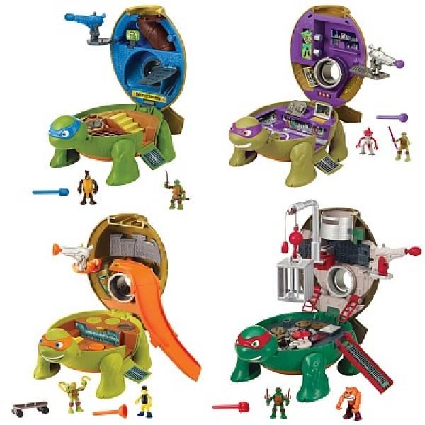 87810 Playmates Игровой набор Черепашки-ниндзя - Микро-мутанты