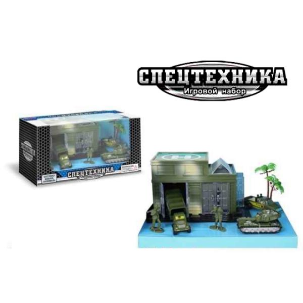 Х75363 Zhorya Игровой набор Спецтехника Военные
