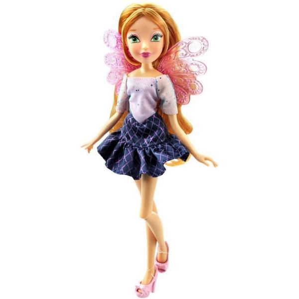 IW01541802 Winx Кукла Winx Club Два наряда - Флора