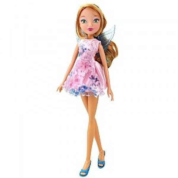 IW01561802 Winx Кукла Winx Club Магическое сияние - Флора