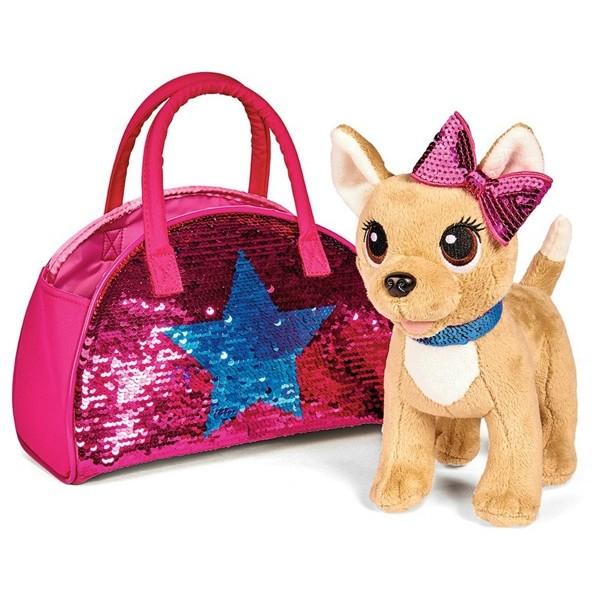 Плюшевая собачка Chi Chi Love Блестящая мода Simba 5893351