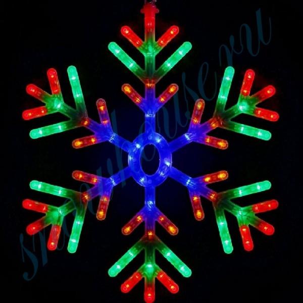 Фигура светодиодная Снежинка