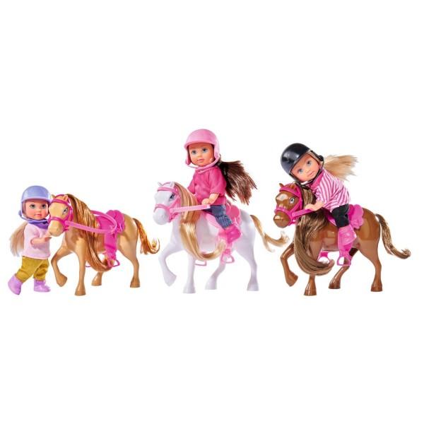 Кукла Еви с пони 3 варианта Simba 5737464