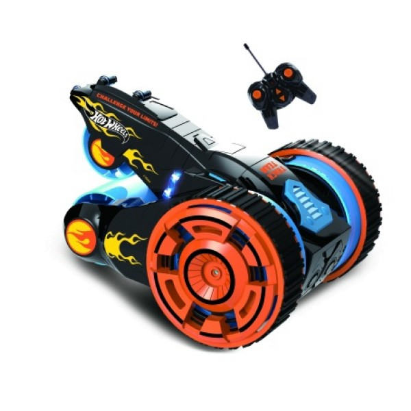 Т10967 Hot Wheels Трюковая трёхколёсная машина-перевёртыш на р/у