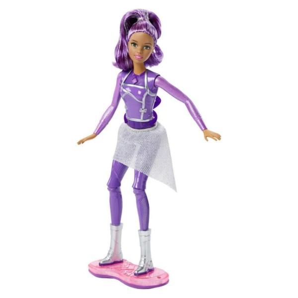 Игрушка Barbie Кукла с ховербордом из серии Barbie и космическое приключение DLT23 Mattel