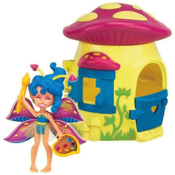 84206 Fairy Kins Фея Спора и лесной домик-гриб