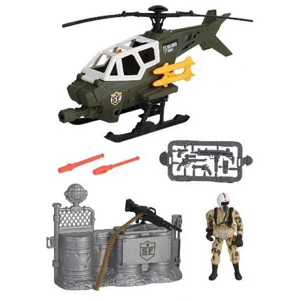 Игровой набор Солдаты Стремительная атака на вертолете Chap Mei 545008-2