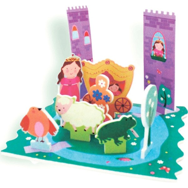 "Стикеры для ванны ""Замок принцессы"", BB013 Barney&Buddy"