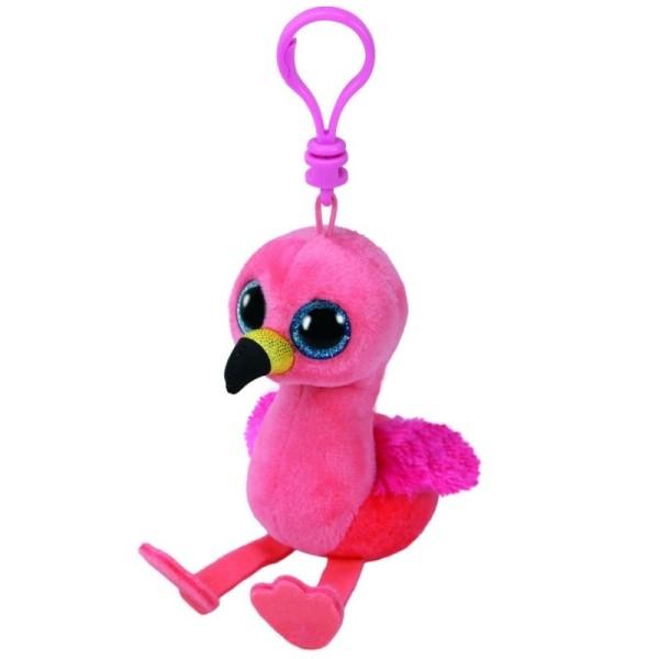 Мягкая игрушка брелок Фламинго Gilda розовый 10 см 35210 Ty Inc