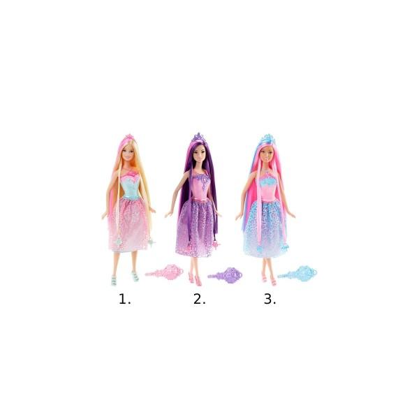 Кукла принцесса с длинными волосами Barbie DKB56 Mattel