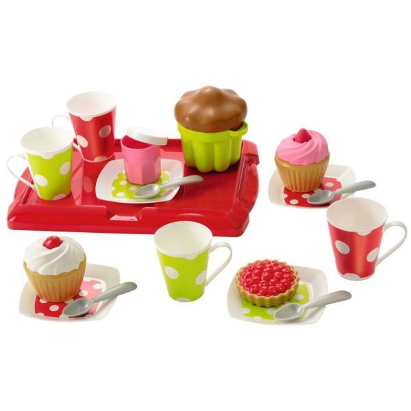 2611 Ecoiffier Игровой набор Завтрак на подносе