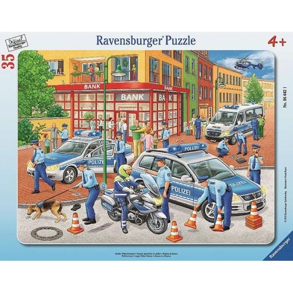 6035450 Noris Пазлы Полиция, 1000 шт.