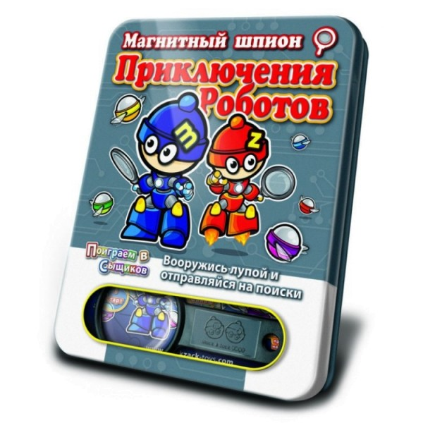 SP_ROBm MACK&ZACK Магнитная игра Приключения Роботов