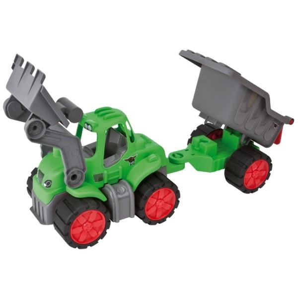 Самосвал с прицепом Big Power Tractor 56838 BIG