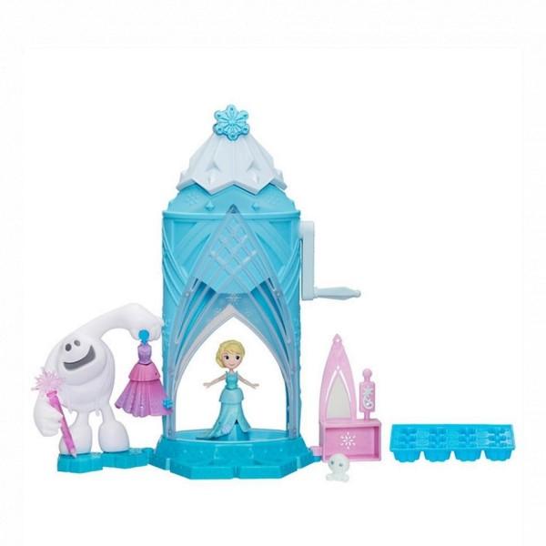 C0461 HASBRO Игровой набор - Замок Эльзы Сделай волшебный снег