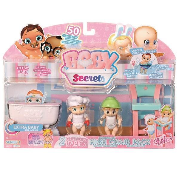 930-175 Zapf Creation Игровой набор с детским стульчиком Baby Secrets