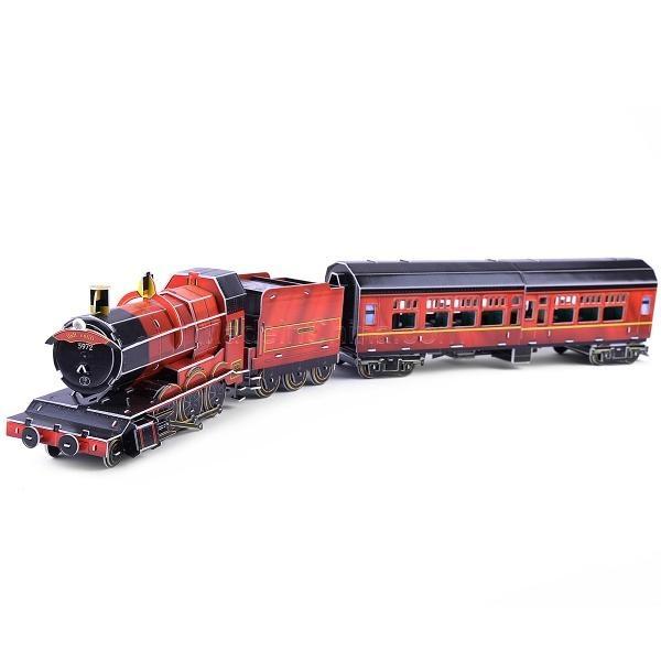 B468-6 SиS TOYS Пазл Старинный поезд 3D