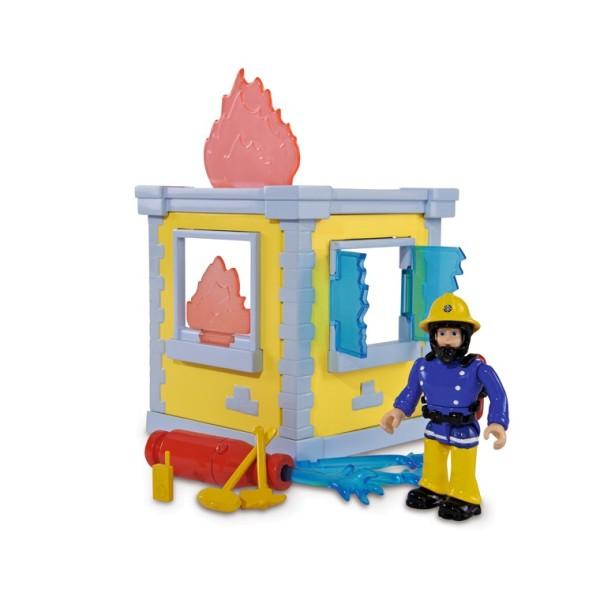 Фигурка с домиком-базой, Пожарный Сэм, 9251052 Simba