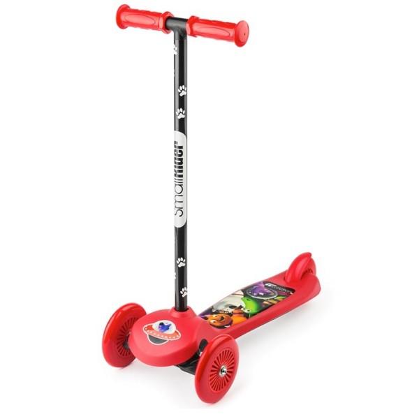 1626494 Small RiderСамокат трехколесный Small Rider Cosmic Zoo Scooter, красный