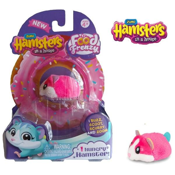 Хомячок розовый Хома дома Т12341 1Toy