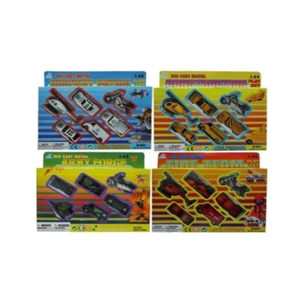 00624 SиS Toys Набор спецтехники