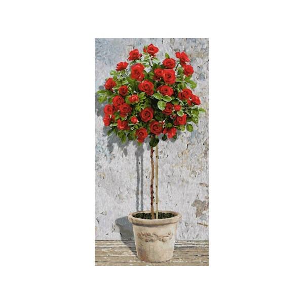 Картина по номерам «Розовое дерево (красное)», 9220776 Schipper