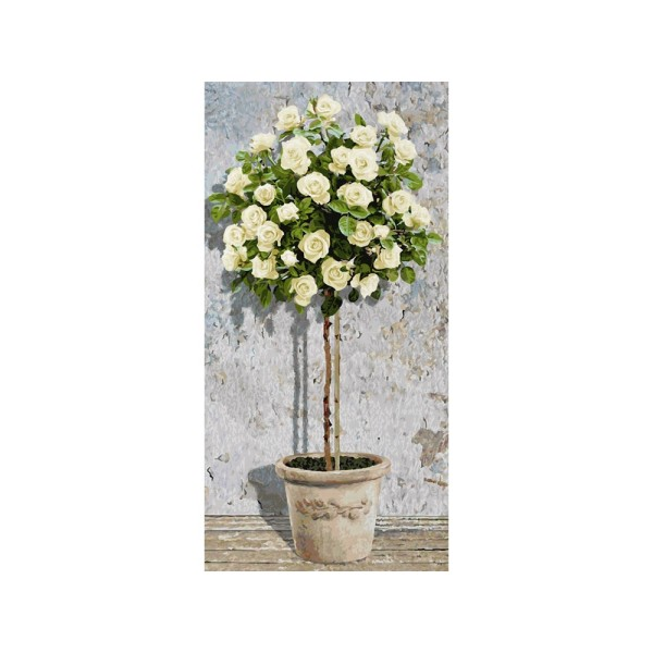 Картина по номерам «Розовое дерево (белое)», 9220777 Schipper