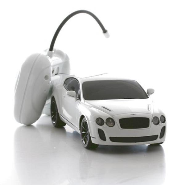 Игрушка р/у модель машины 1:24 Bentley Continental Supersports, 84003 Welly