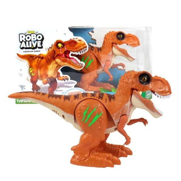 Игрушка Робо- Тираннозавр RoboAlive, оранжевый, Т13694 Zuru