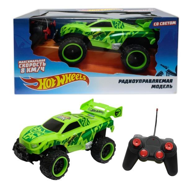Багги бигвил на р/у, зелёная Т10981 Hot Wheels