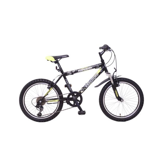 Велосипед Топ Гир черный/желт ВН20149 Navigator