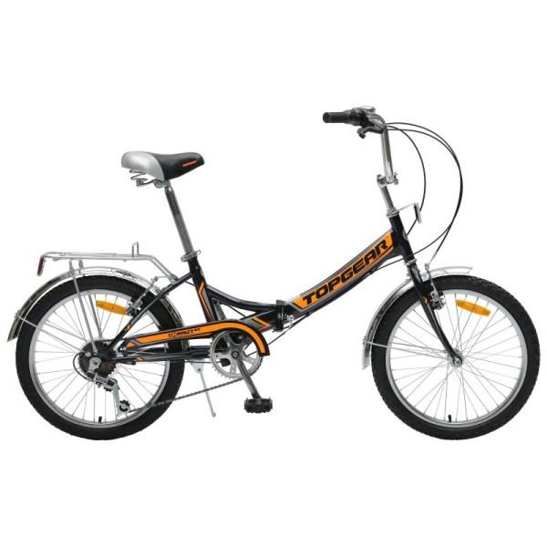 Велосипед складной черный/оранжевый ВНС2083-6s Navigator