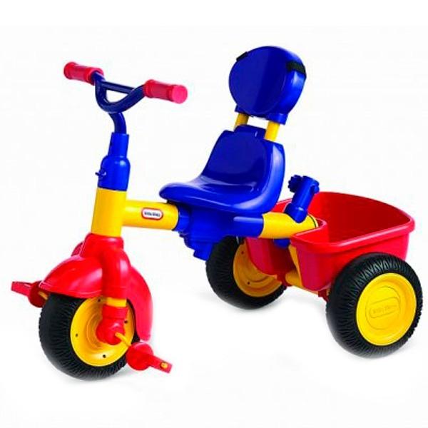 Велосипед 3 в 1, красно-синий 627354 Little Tikes