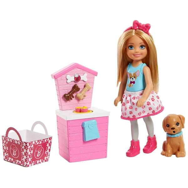 Кукла Barbie Челси и щенок FHP66 Mattel
