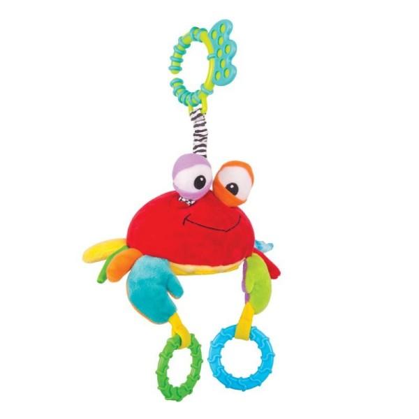 Игрушка-подвес Краб Чарми, 14HS013PK Happy Snail