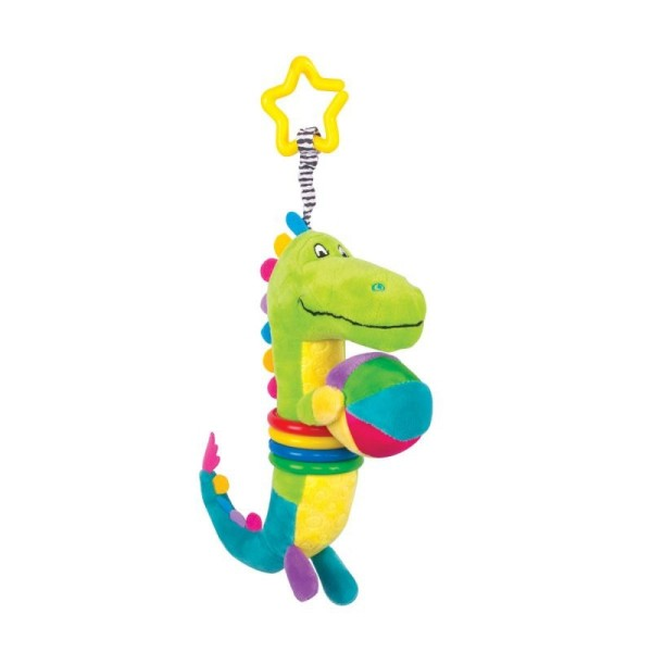 Игрушка-подвес Крокодил Кроко, 14HS014PKR Happy Snail