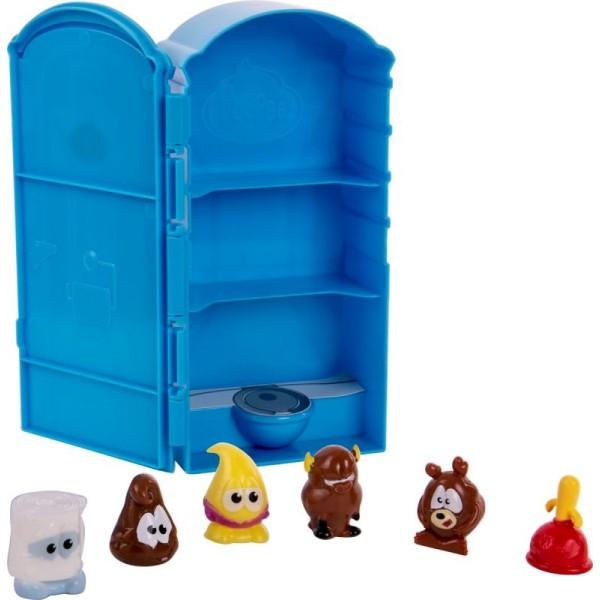 Игровой мульти набор с 6 фигурками в комплекте Туалетная кабинка 71260 Basic Fun