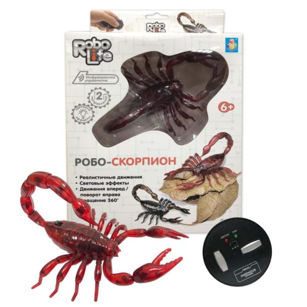 Робо-скорпион на ИК управлении красный Т10893 1toy