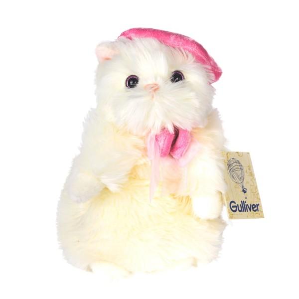 Мягкая игрушка Кошечка Мими в беретике 50-89725F Gulliver