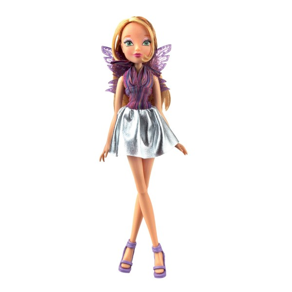 Кукла Winx Club Рок-н-ролл, Флора, IW01591802 Winx Club