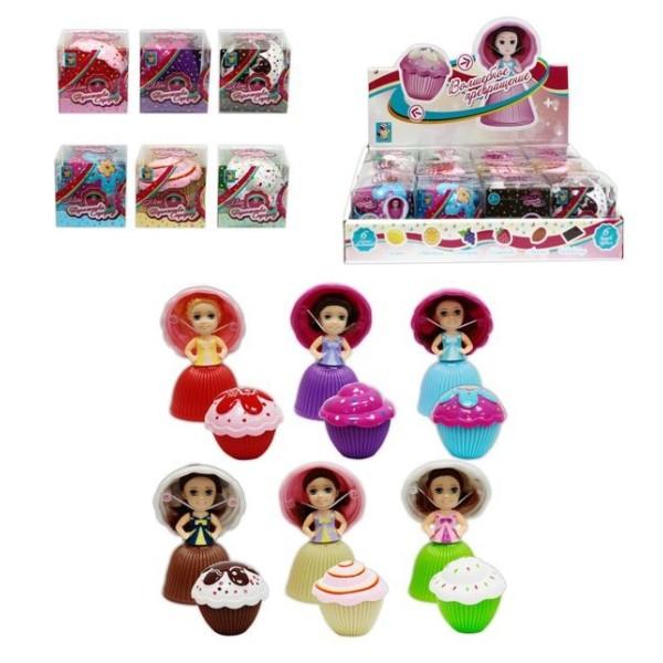 Кукла-сюрприз 1Toy Пироженка в ассортименте, Т11572 1toy