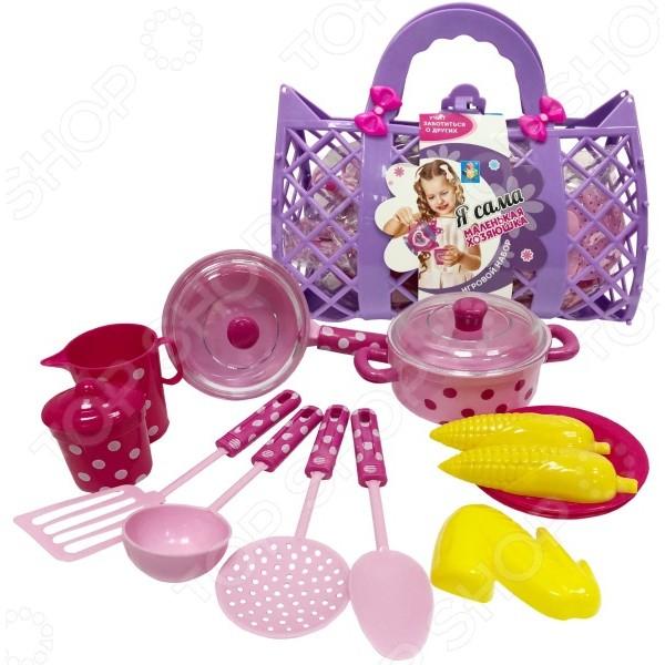 Набор посуды игрушечный «Маленькая хозяюшка», Т11641 1toy