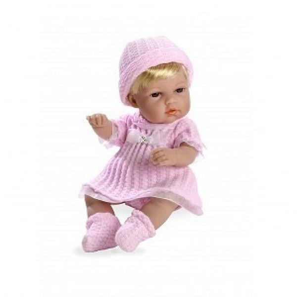 Пупс Elegance Swarowski в розовой одежде 33 см Т11131 Arias