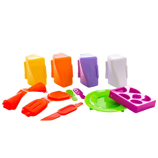 Набор для творчества Skwooshi Мороженое - масса для лепки и аксессуары S30024 Skwooshi