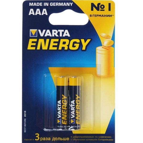 Батарейка щелочная VARTA LR03 (AAA), 4008496771226 VARTA