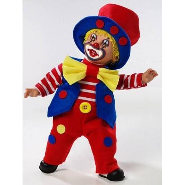 Мягконабивная кукла Elegance – Клоун 38 см Т59768 Arias