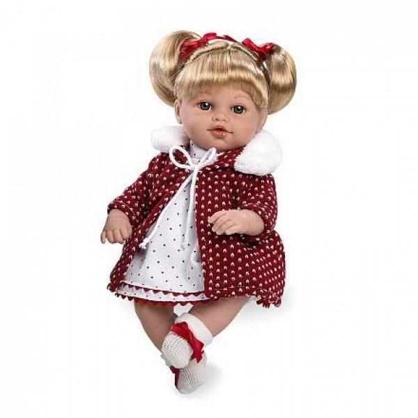 Мягкая функциональная кукла Elegance 33 см Т11088 Arias