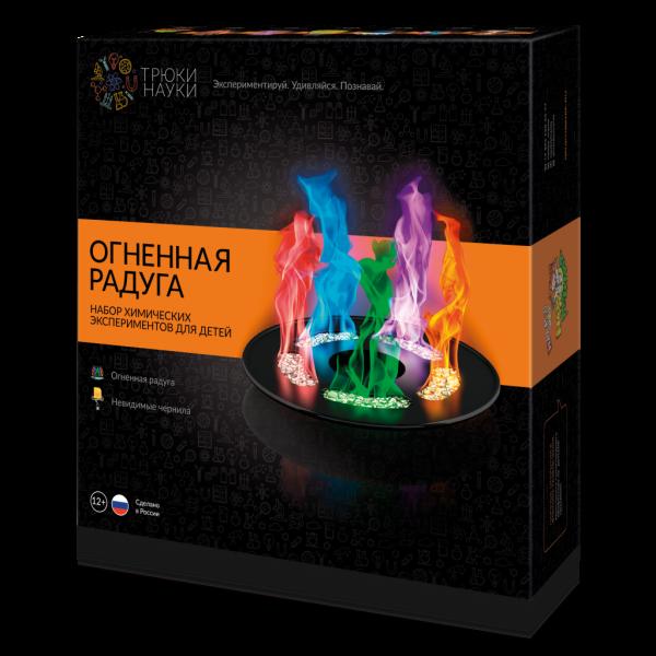 Набор для опытов - Огненная радуга, Z002 ТРЮКИ НАУКИ